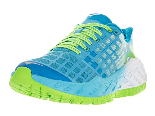 hoka-one-one-womens-w-clayton-bright-green-blue-atoll-running-shoe-75-women-us