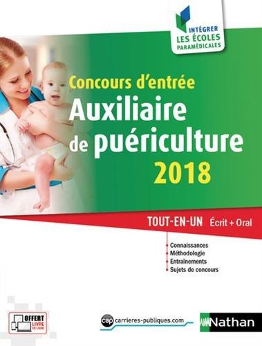 Concours d'entre Auxiliaire de puriculture 2018