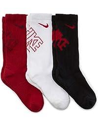 Nike - Calcetines de Atleta para niño (3 Unidades, 10C-3Y),