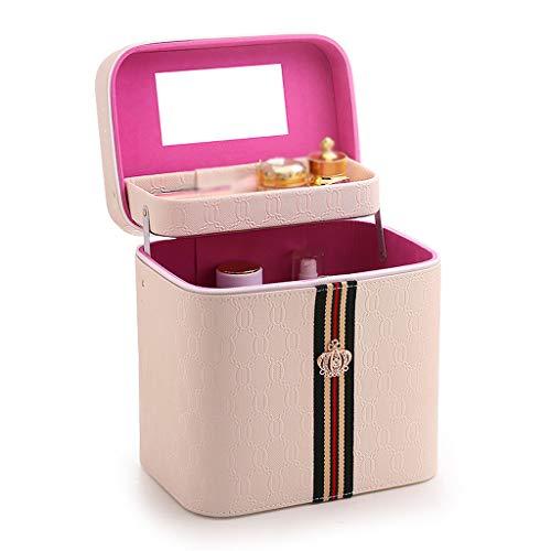 Boîte de Rangement Portable de boîte Simple (Color : Beige, Taille : 24 * 1824CM)