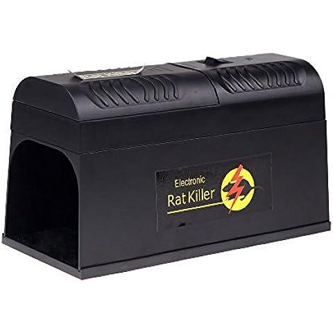 Anself Elettronica Rat Trap topi Mouse roditore Killer Shock elettronico adattatore spina EU
