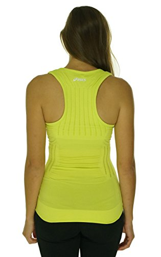 Asics Womens Seamless Tank Top Electric Lime