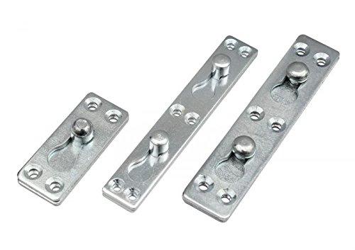 Möbelverbinder Steckverbinder Bettverbinder Verbinder Metallverbinder 9-03 Größe 26x63mm