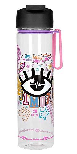 Depesche 10334 Trinkflasche aus Kunststoff, Lisa und Lena J1MO71, frei von BPA und Phthalaten, ca. 500 ml, bunt