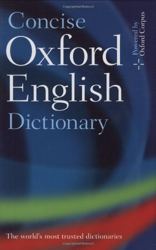 Concise Oxford English Dictionary par Varios Autores