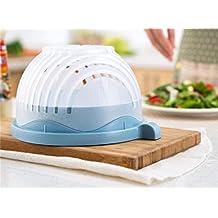Cuenco cortador de ensalada Kakiblin: Prepara tu ensalada en solo 60 segundos