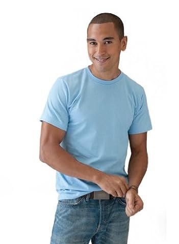 Anvil Men's Short SleeveT-Shirt - Blue - Royal blue -