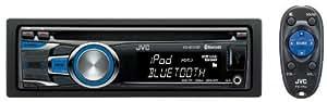 JVC KD-R721BT CD-Autoradio (Bluetooth, Ipod / Iphone Steuerung, Front-AUX-Eingang, 2x USB 2.0)