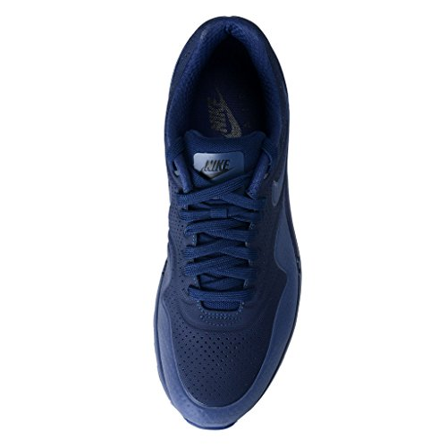 Nike Air Max 1 Ultra Moire, Low-Top Sneaker homme Azul / Negro (Midnight Navy/Mid Navy-Blk)