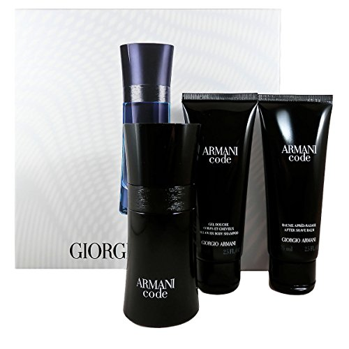 Code-set (Giorgio Armani Armani Code homme/man Set, Eau de Toilette (50 ml), Duschgel (75 ml), After Shave Balm (75 ml))
