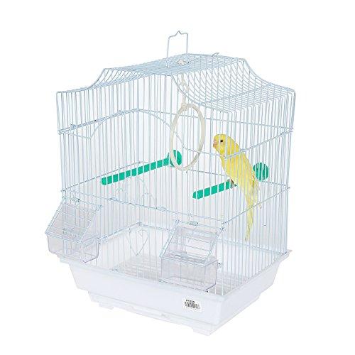 Pet Ting Freesia Kleiner Vogelkäfig, für Finken, Kanarienvögel, Wellensittiche und andere ähnlich große Vögel