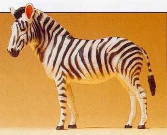 Preiser 1/25 Scale Zebra