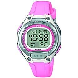 Casio Reloj Digital para Mujer de Cuarzo con Correa en Plástico LW-203-4AVEF
