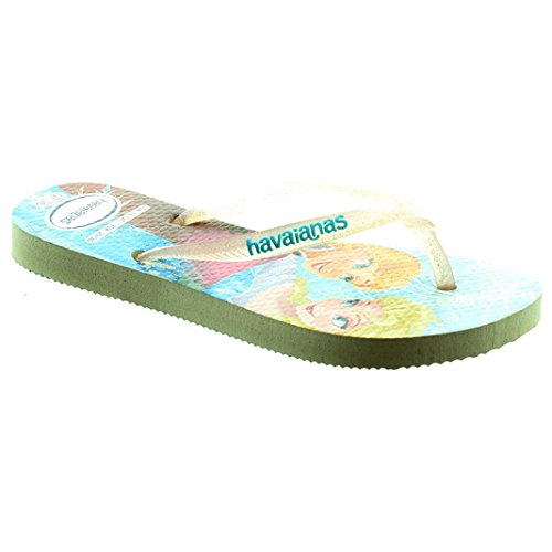 Havaianas Slim Princess Frozen White Rubber 37/38 EU