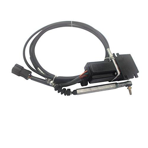 Accel actionneur 22b-43-11142 - Sinocmp carré Plug Moteur d'accélérateur pour Komatsu Pc78uu Pc128uu Pc228 Pc228us-2 Pc228us-1 Excavatrice pièces, 6 mois de garantie