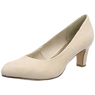 Tamaris Damen 22418 Pumps, Beige (Nude), 35 EU