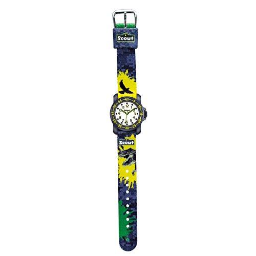 Scout Jungen-Armbanduhr Analog Quarz Textil 280376039