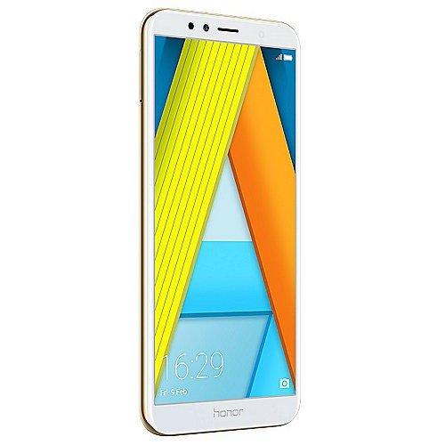 """Honor 7A 51092KVV - Smartphone con pantalla de 5.7"""", Dorado, Android"""