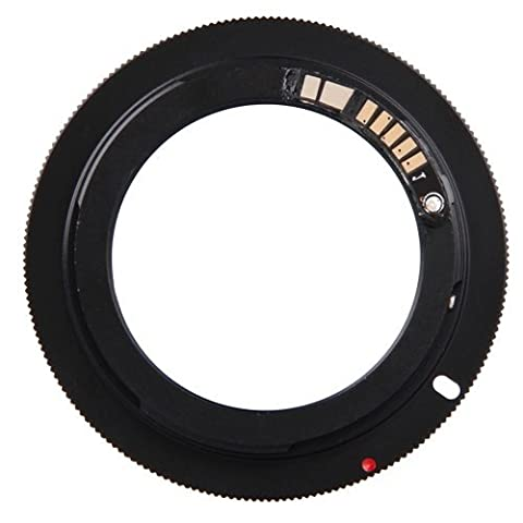 SODIAL(R) AF Confirm Mount Adapter Ring for Takumar M42 Lens to Canon EOS EF EFS