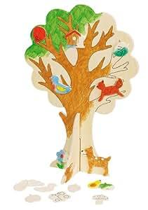 Grand arbre à monter et à peindre Toys pure