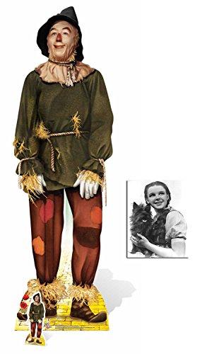 Fan Pack - die Vogelscheuche (Ray Bolger) von Der Zauberer von Oz (Wizard of Oz) Lebensgrosse und klein Pappaufsteller - mit 25cm x 20cm foto