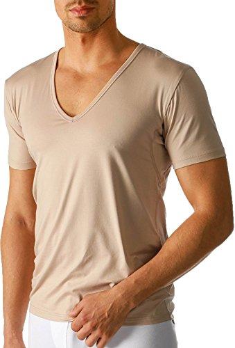 """Mey - Herren V-Neck Business Shirt """"Dry Cotton Functional"""" beige / Light Skin (Das """"Drunterhemd"""") 7"""