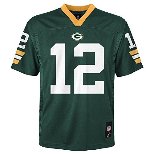 NFL Jugend Jungen 8–20 mid-tier Jersey – TMC Rodgers A. Packers Hunter S (8) xl Hunter
