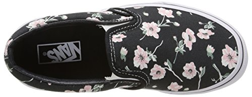 Vans K Classic Slip-On Vintage Floral, Sneakers, infantile Grigio (Vintage Floral/Blue Graphite)