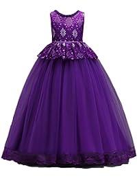 ALIKEEY Vestidos de Novia de Las Princesas Princesa Tutu de Las Muchachas Vestidos de Boda Vestidos