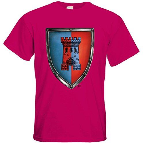 getshirts - Das Schwarze Auge - T-Shirt - Die Siebenwindküste - Wappen - Abilacht Sorbet
