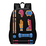 TRFashion Sac à Dos Skiing 1 17 inch College Laptop Notebook Bag Backpack Schoolbag...