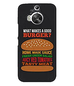 PrintVisa Designer Back Case Cover for HTC One M9 Plus :: HTC One M9+ :: HTC One M9+ Supreme Camera (Love Lovely Attitude Men Man Manly)