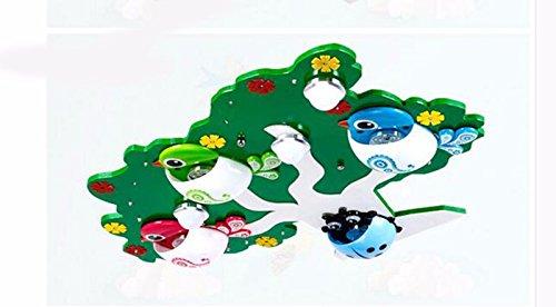 Schaum-baum (Deckenleuchte Ledthat Kreativität Schlafzimmer Wohnzimmer Persönlichkeit Restaurant Home Beleuchtung Kinderzimmer Cartoon Bäume Grün Schaum 75 * 55 * 10 Cm MeloveCc)