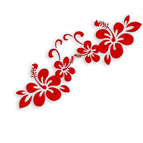 Fenghuicar adesivi per auto e della decalcomania modello decal vite del fiore della finestra di automobile parete laptop (10 * 14 cm)