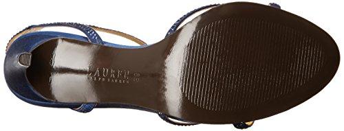 Lauren Ralph Lauren Stephanie Dress Sandal Dark Sapphire Satin/Stones