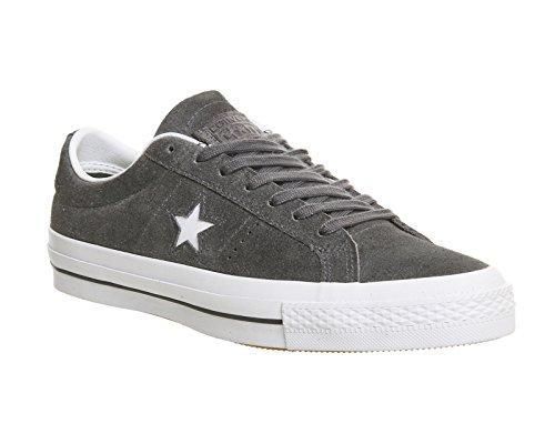Converse Sneakers One Star C153064, Scarpe da Ginnastica Basse Unisex – Adulto Thunder White White