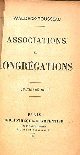 Associations et congregations