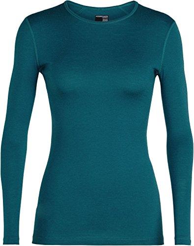 icebreaker Damen Women's 200 Oasis Long Sleeve Crewe Baselayer Tops