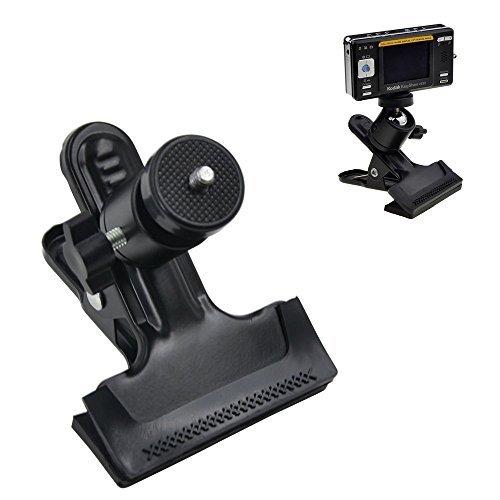 """Racksoy Kompakt Stativschelle Montage Klammer Kamera Blitz Halterung mit 1/4"""" Gewinde Kugelkopf 360 Grad Verstellbar für GoPro Hero, Studio-Hintergrund Kamera, Blitzgeräte Speedlite SLR DSLR usw."""