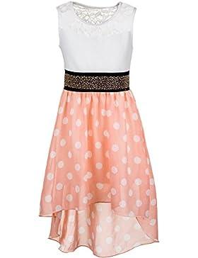 Mädchen Sommer Kleid 6 Farben optional mit Jacke