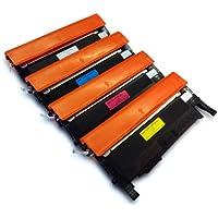 Prestige Cartridge Toner Compatibile per Samsung CLP-360/CLP-365/CLX-3305, 4 Pezzi, (Samsung Laser Inchiostro)