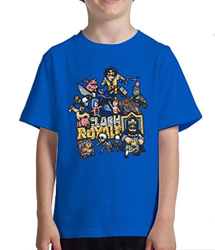 Camiseta niño Clash Royale (10 años)