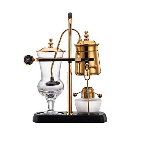 LUEJIAN Vakuumkaffeemaschine Abnehmbare Glas Siphon Siphon Drop Kaffeemaschine Topf
