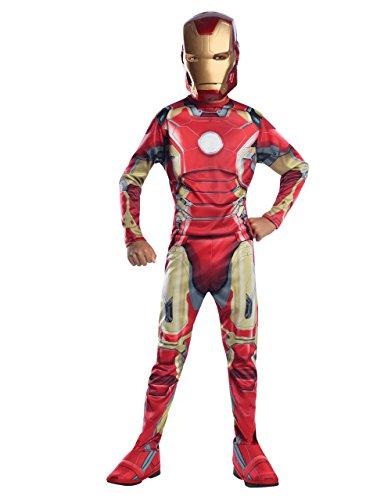 ngers Kinder Age Of Ultron Set, Medium, Alter 5-7 Höhe 4'5.08 cm - 4'15.24 cm (Avengers Iron Man Mark 7 Kostüm)