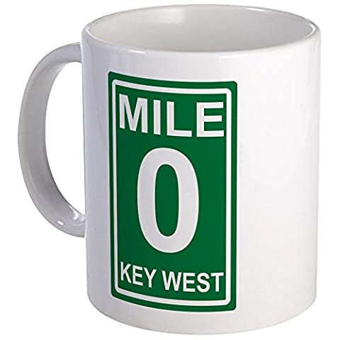 CafePress - Mile Marker Zero Key West Coffee - Unique