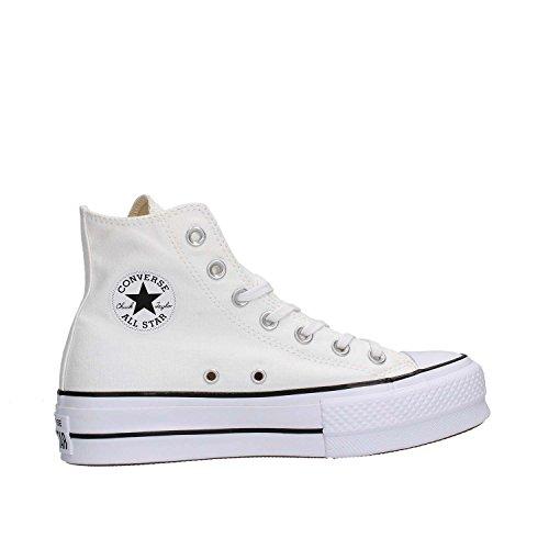 CONVERSE 560846C Ctas Lift Hi White Bianco