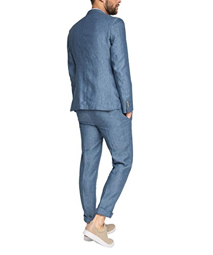 ESPRIT Collection Herren Sakko Blau (BLUE 430)