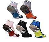 12 Paar Herren Sneaker Socken Füßlinge Kurzsocken Baumwolle 39-42 ; 43-46