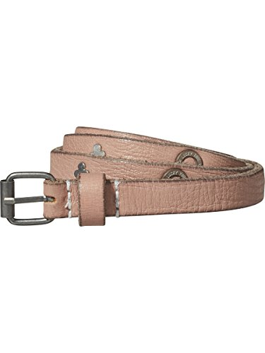 Scotch & Soda R´Belle Mädchen Leather belt with metal studs Gürtel, Rosa (Rose White 09), L Stud Belt