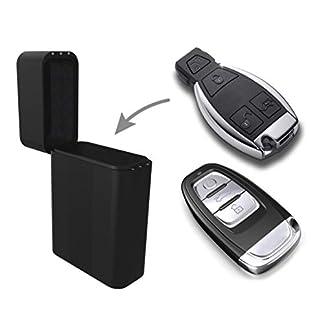 Practimondo-Keyless-Go-Autoschlssel-Schutz-Box-Car-Key-Entry-Signal-Blocker-Diebstahlschutz-Autoschlssel-Schliesystem-NFC-RFID-Auto-Schlssel-Schutzhlle